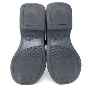 Dansko Shoes - Dansko Mary Janes Clogs Solid Black Leather